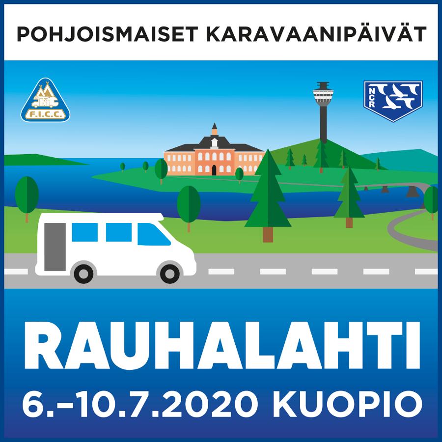 Pohjoismaiset Karavaanipäivät Heinäkuussa Kuopiossa - Ilmoittautuminen Käynnistynyt