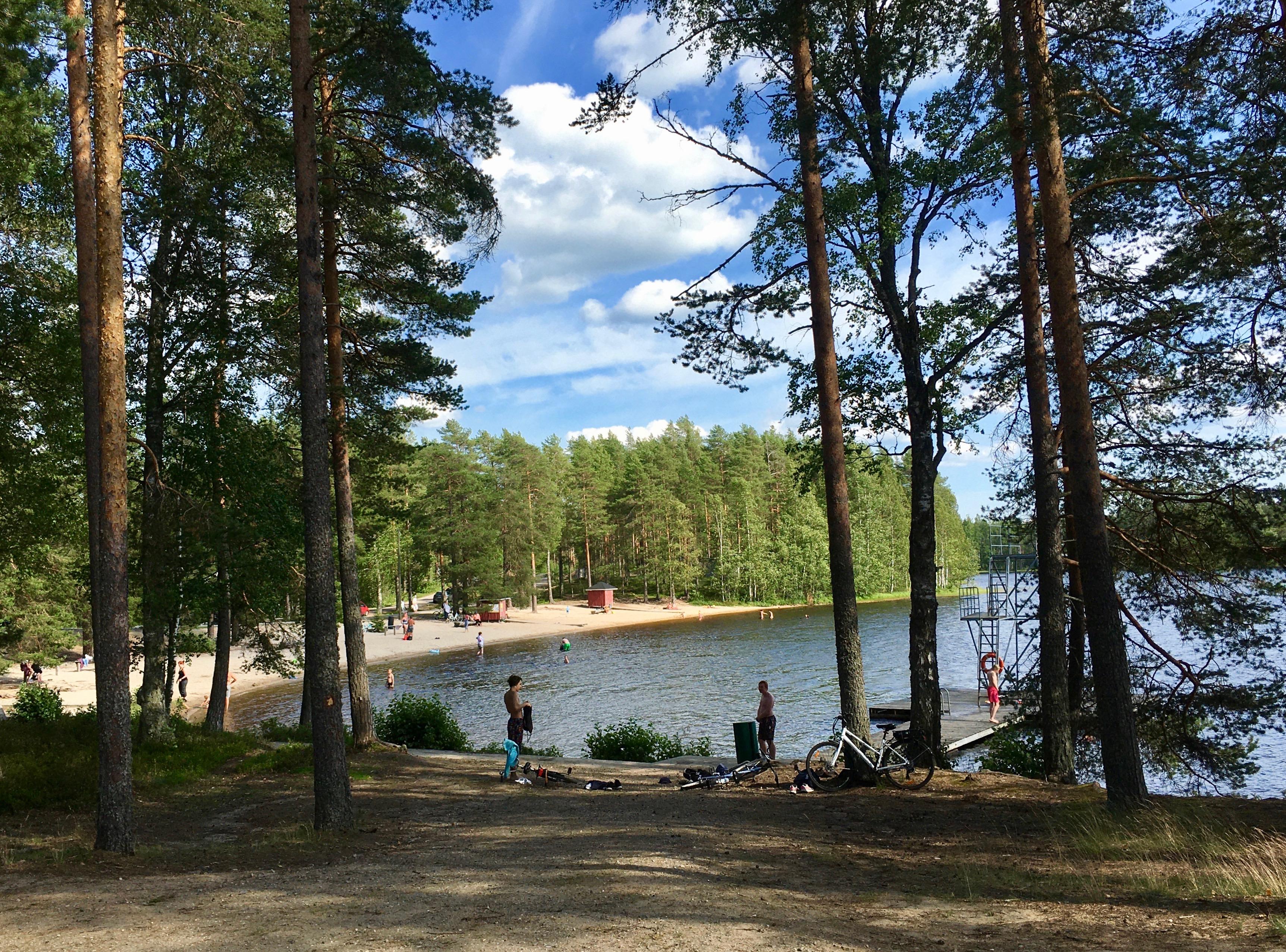Särkiselkä Camping